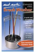 Brush Washer Stainless Steel
