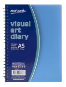 Visual Art Diary A5 Colured Cover