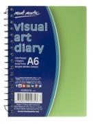 Visual Art Diary A6 Colured Cover