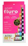 Fluro Acrylic Paint Intro Set