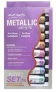 Metallic Acrylic Paint Intro Set