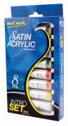 Satin Acrylic Paint Intro Set